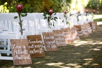 50 Best Garden Wedding Aisle Decorations - Pink Lover