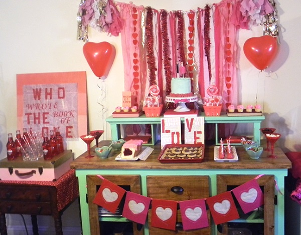 Valentine Party Decorations Ideas - Elitflat