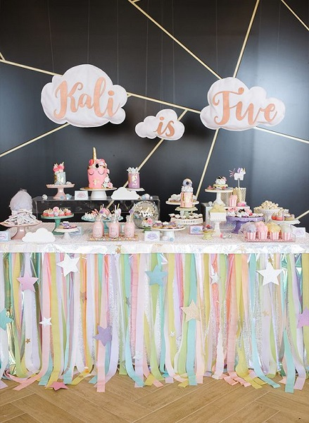 Unicorn Birthday Party Ideas Every Girl Would Love you Have - birthday party design