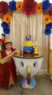Beauty and the Beast Birthday Party Ideas Best for Little ...