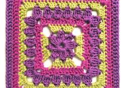 Margaret 10″ Crochet Square