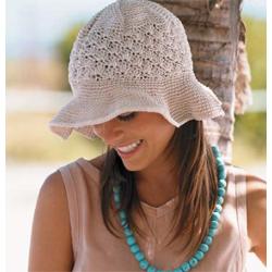 Knit Summer Hat Patterns Free : Crochet Summer Hats - 8 Free Patterns! - Pink Mambo