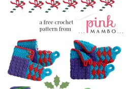 Crochet Baby and Child Elf Boots Free Pattern