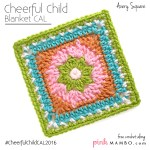 Cheerful Child Crochet Along Avery Square #7