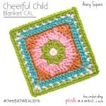 Cheerful Child Crochet Along Avery Square #7