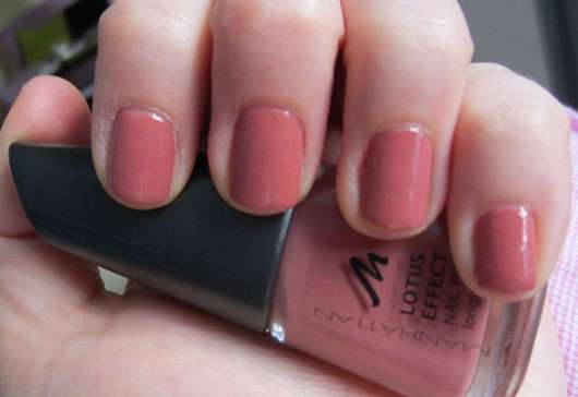 Test Nagellack Manhattan Lotus Effect Nail Polish - Farbe Manhattan