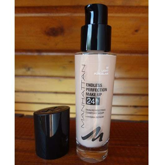 Test Foundation Manhattan Endless Perfection Make Up - Farbe Manhattan