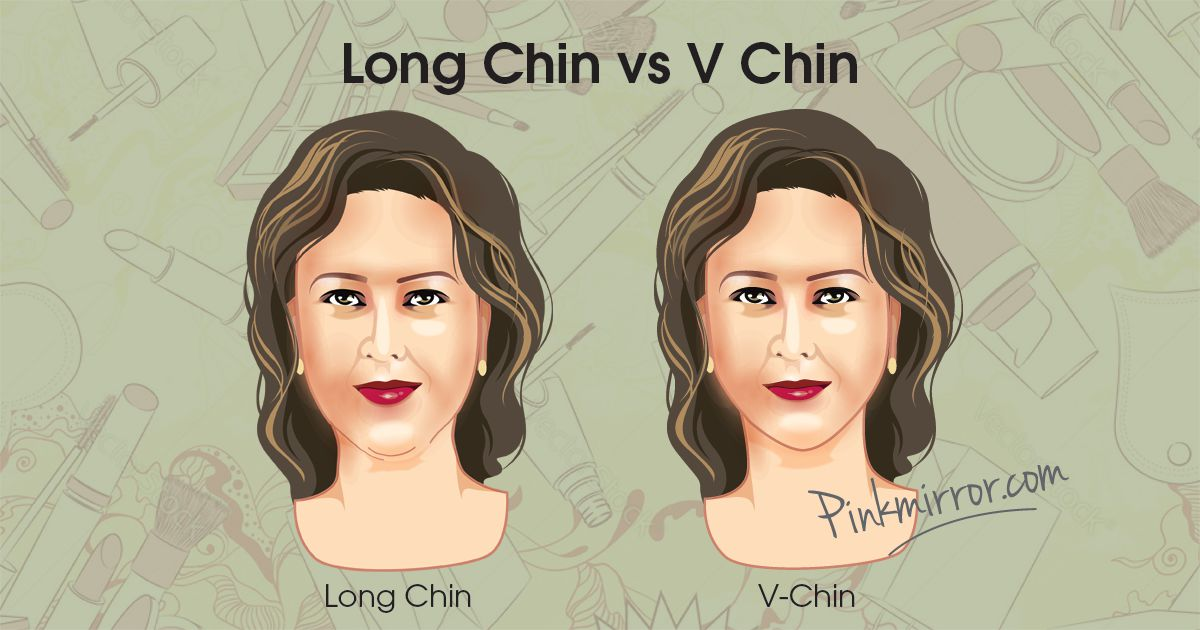 Oval Mirror Long Makeup Clothes And Hairstyle Tips For V Chin Pinkmirror