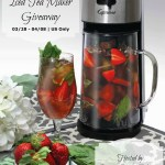 Capresso Iced Tea Maker Giveaway1