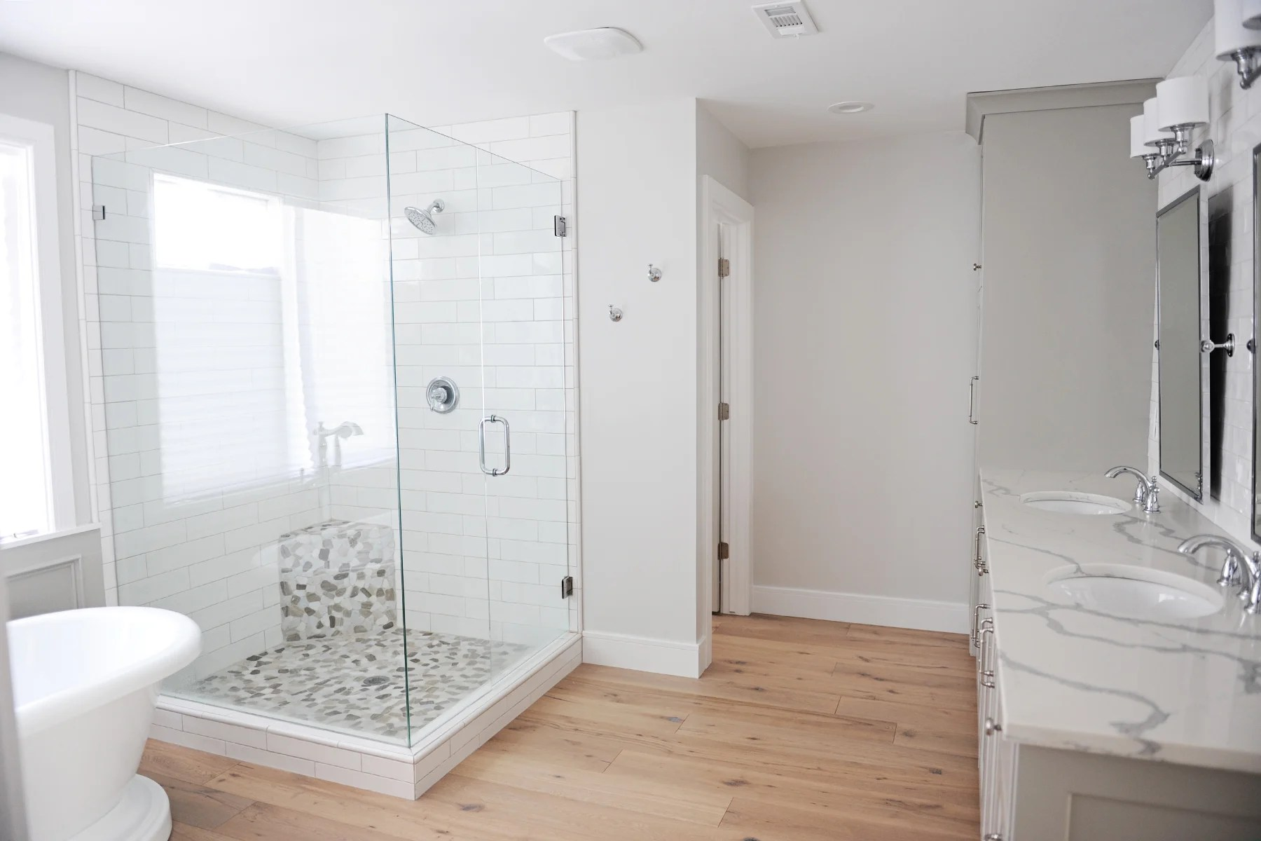 Master Bathroom Remodel Renovation Idea Before And After