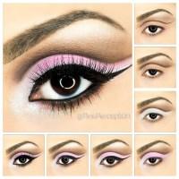 Pastel Pink Cut-Crease eyeshadow step by step tutorial