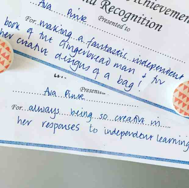 Ava's Certificates