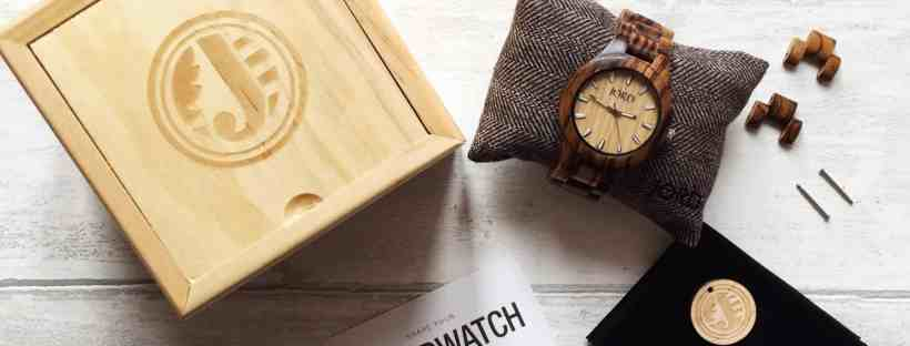 Review Wooden Wrist Watch Jord box