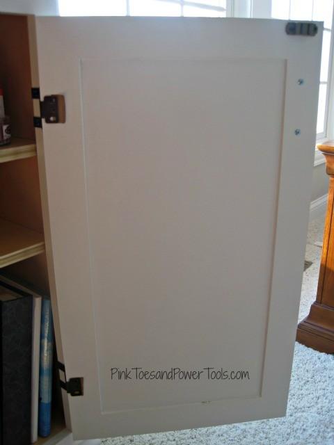 Pocket Hole plug jig--finished door