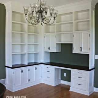 Dining Room/Home Office {The Reveal}