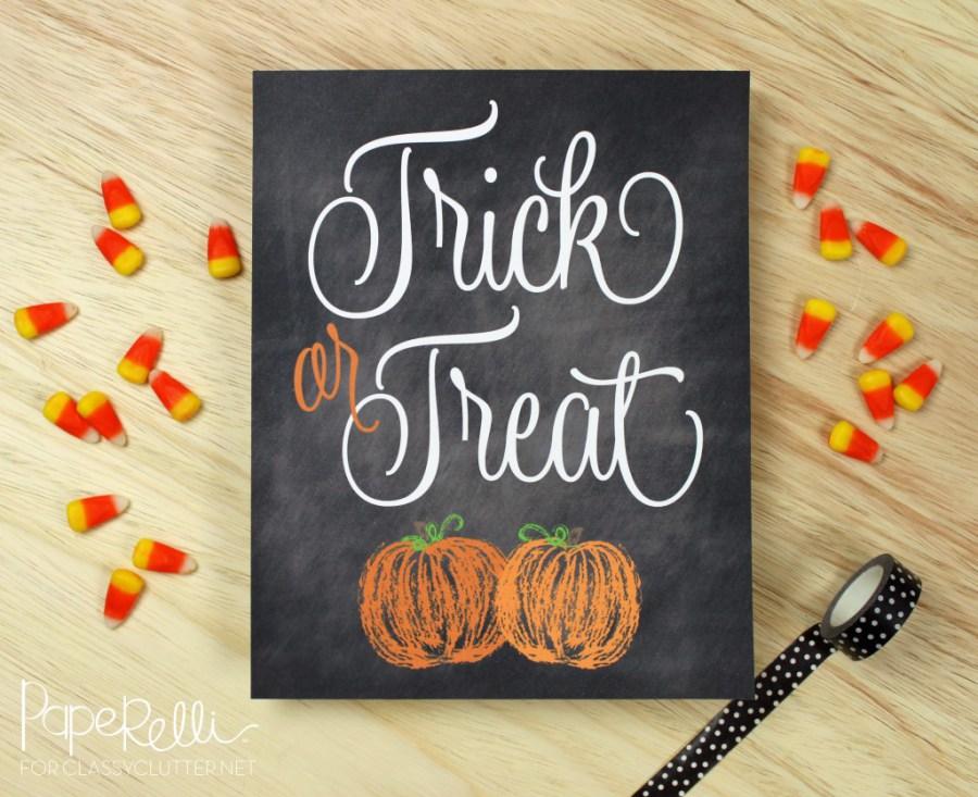 7 Halloween Candy Printable Signs \u2013 PinLaVie