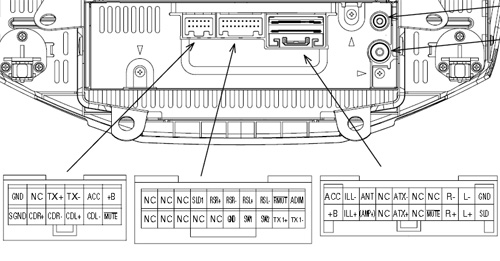 toyota corolla head unit wiring diagram