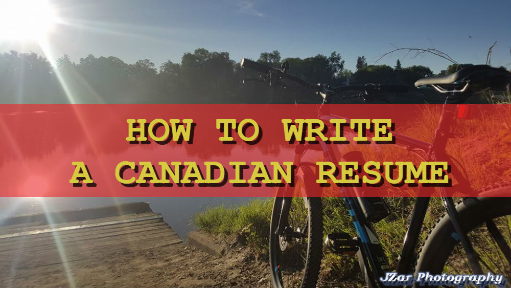 How to Write a Canadian Resume Filipino Portal