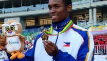 Eric Cray who i helped recruit before i was working for the PSC won a gold medal for the Philippines ending a 28 year drought. Eric is a 'perfect example' of a successful Fil-Heritage Program.