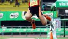 Milo Champion at Marikina a few weeks ago in the jumps Gatinga chose to focus on the sprints and won the 100m at Naga.