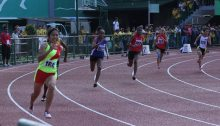 The Womens 200 Final ASEAN School Games