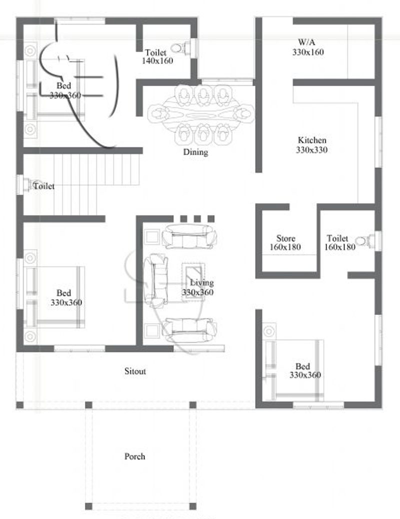 Home Design Floor Plan Beautiful One Storey Home Design Pinoy Eplans