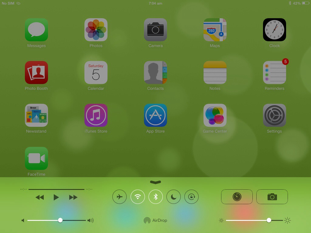 How to Remove Moon Icon on IPAD / Iphone iOS 7 Status Bar