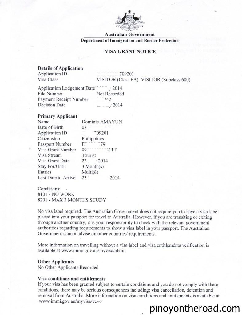 Australian Embassy London Australian Visa Bureau Cover Letter Sponsorship Visa