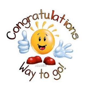 Congratulations Board Exam Passers