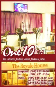 Contact the One10 FM Bar now