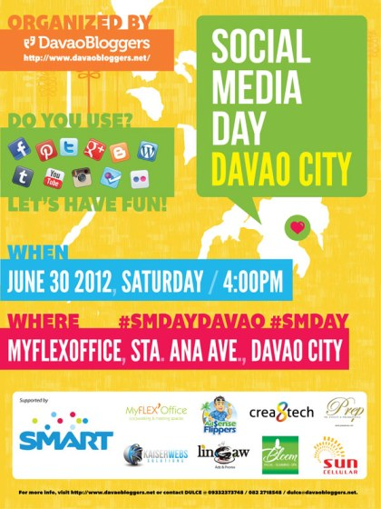 Social Media Day Davao on June 30 2012