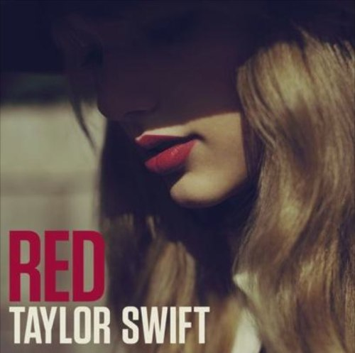 """Taylor Swift """"RED"""" Album Cover"""
