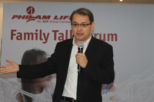 President and CEO of Philam Life graces the Family Talk for the Media at Apo View Hotel Davao