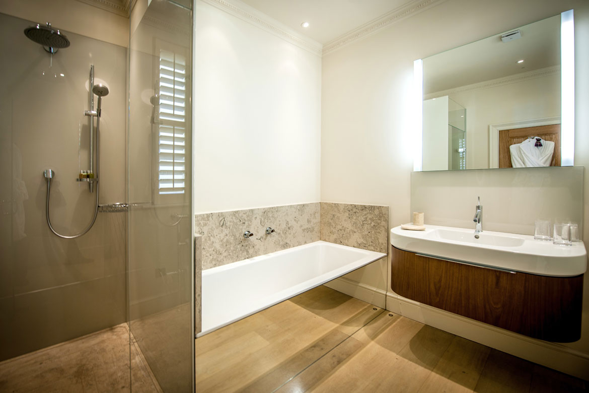 The Bathroom The Bath Priory Hotel Bath Pinpoint Projects