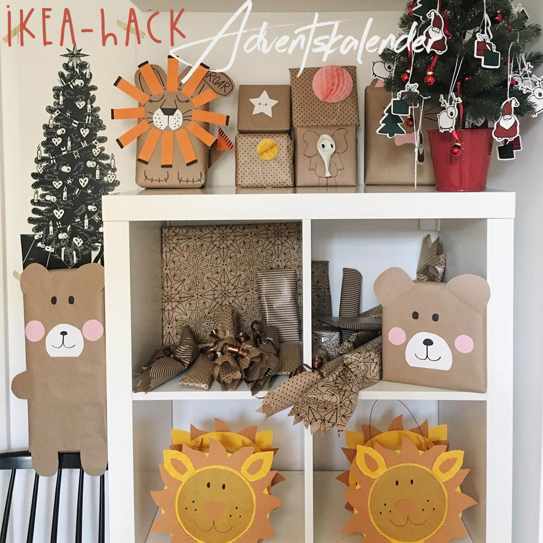 Ikea Adventskalender Ikea Hack Adventskalender And Pinterest Geschenkverpackung
