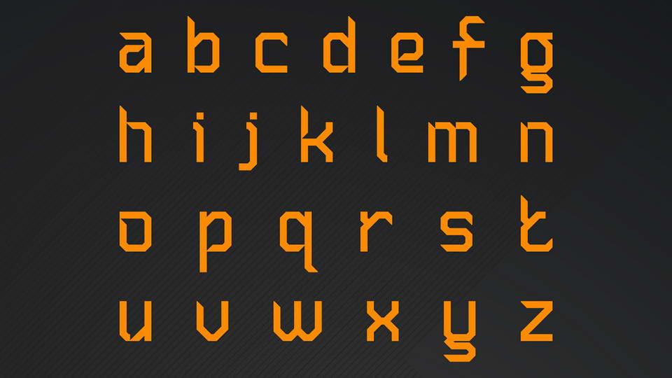 Sliced AB 2 Free Font · Pinspiry