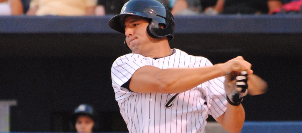 Rob Segedin's home run contributed to the RailRiders' rout of Pawtucket Thursday night.  (Robert M Pimpsner)