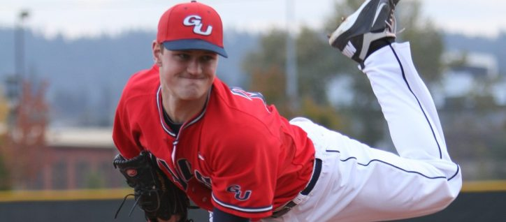 Deerek Callahan was selected by the Yankees in the 16th round of the MLB Draft (Gonzaga University Athletics)