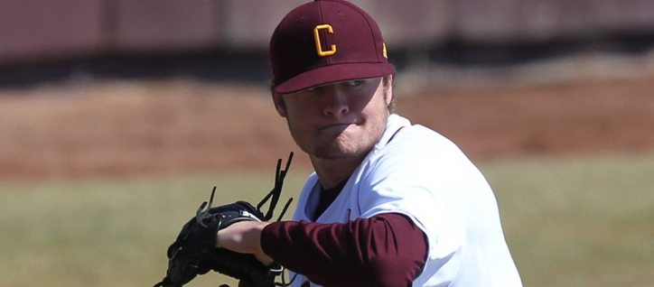 The New York Yankees selected RHP Jordan Foley in the fifth round of the 2014 Draft (Photo Credit: CMU Athletic Communication)