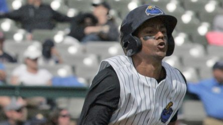 Jose Rosario had an RBI in Thursday night's Thunder loss. (Jessica Kovalcin)