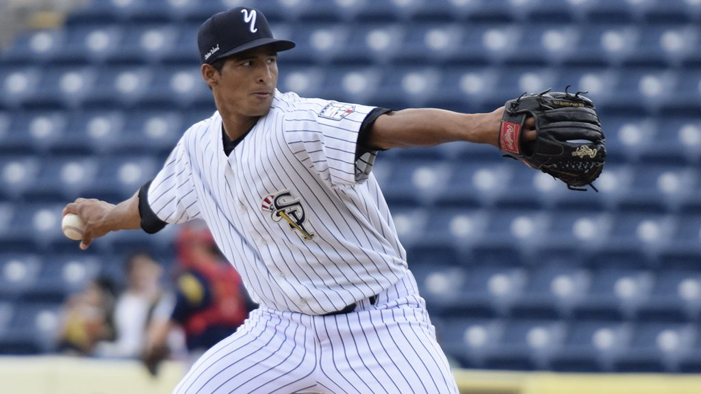 Right-handed pitcher Yoel Espinal is scheduled to get the start. (Robert M Pimpsner)