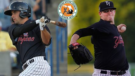 Mike O'Neil and Jordan Montgomery have been impressive the last week (Tampa Yankees Media Relations)