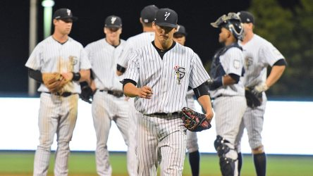 The Staten Island Yankees season ended with a tough loss to the Black Bears in the Championship Series (Robert M Pimpsner)
