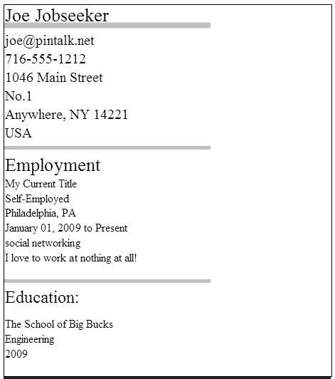 PinRes Pin Your Resume - PinTalknet