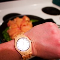 I'm Cooking, But It's An Excuse To Give Away a Watch