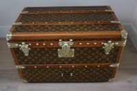 Antique Louis Vuitton coffee table trunk small size ...