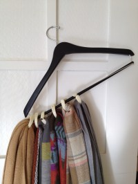 scarf holder | pin this not that