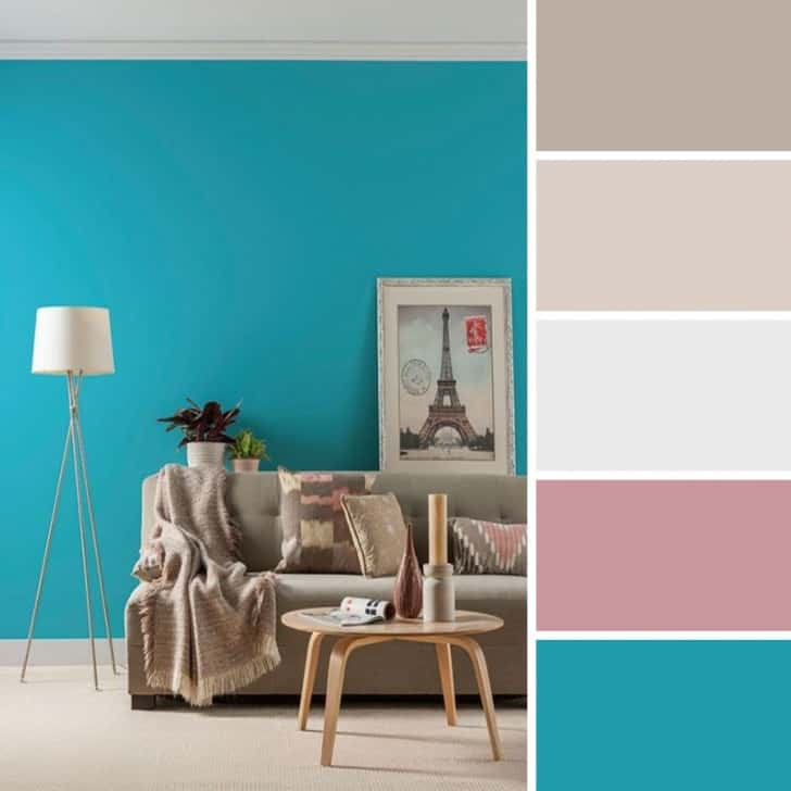 Colores Para Decorar Un Salon Color Turquesa, Recomendaciones Al Pintar Los Interiores