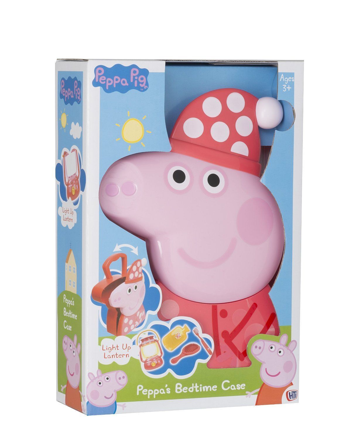 Glow Toys For Bedtime Peppa Pig Peppa S Bedtime Case