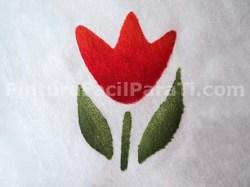 Pintura de Flores Tulipanes